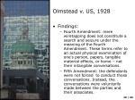 olmstead v us 19282