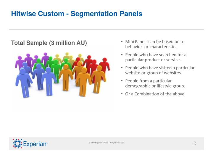 Hitwise Custom - Segmentation Panels