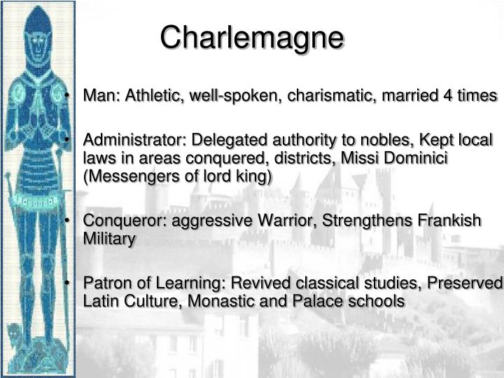 Man: Athletic, well-spoken, charismatic, married 4 times