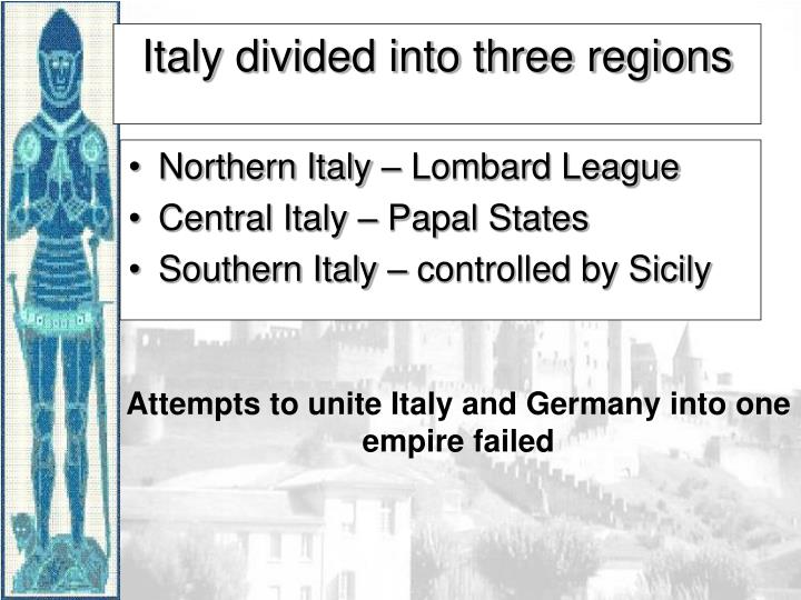 Northern Italy – Lombard League