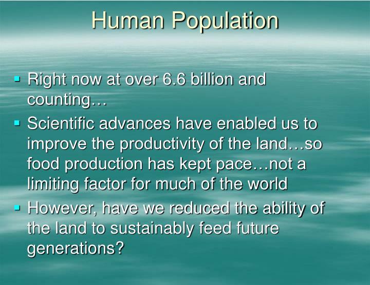 Human Population