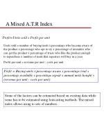 a mixed a t r index