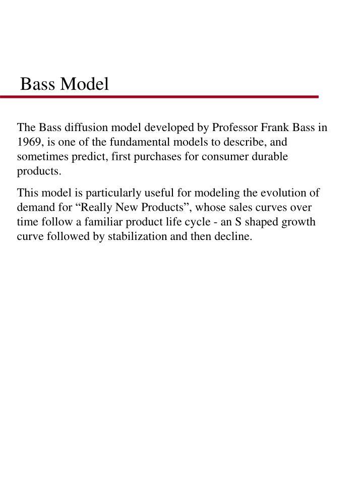 Bass Model