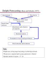 delphi forecasting basu and schoder 1977