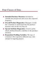 four classes of data