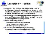 deliverable 4 cont d