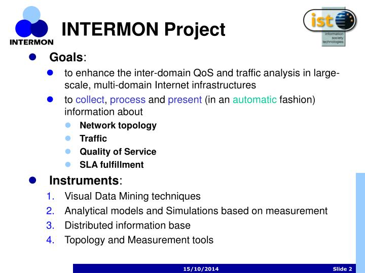 INTERMON Project