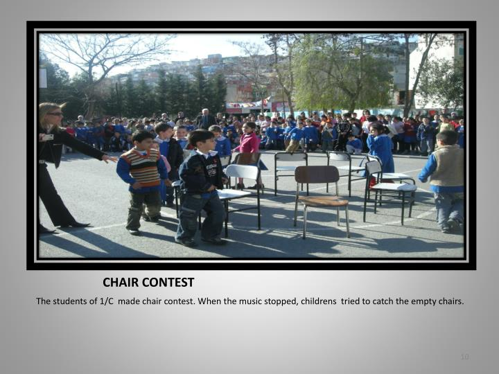 CHAIR CONTEST