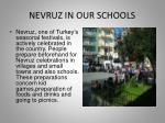 nevruz in our schools