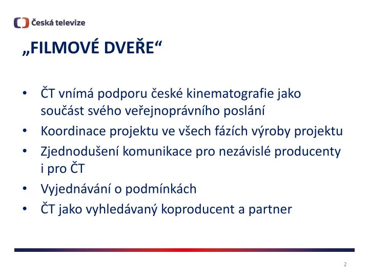 """""""FILMOVÉ DVEŘE"""