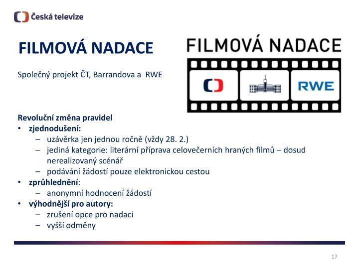 FILMOVÁ NADACE