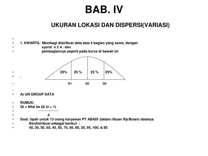 BAB. IV