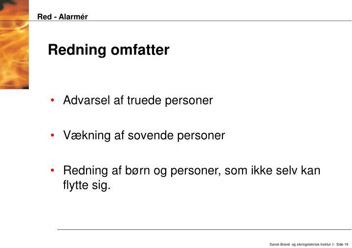 Red - Alarmér