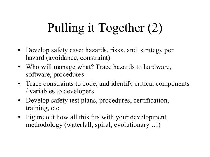 Pulling it Together (2)