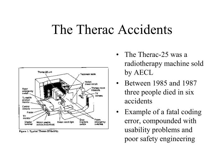 The Therac Accidents