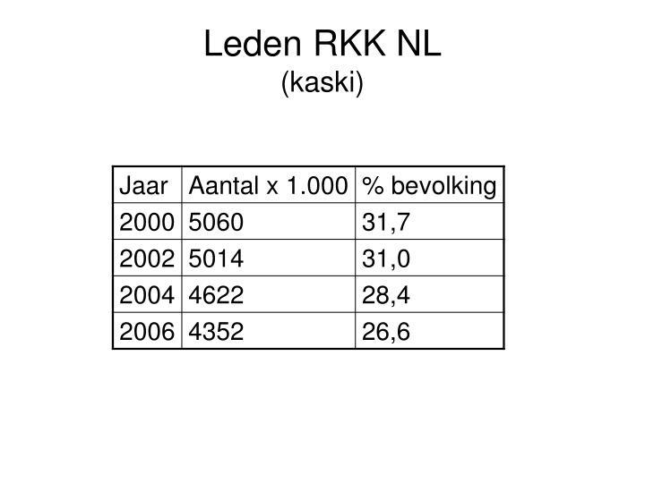 Leden RKK NL