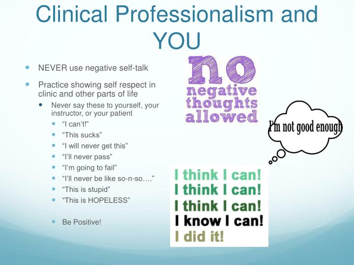 Clinical Professionalism and