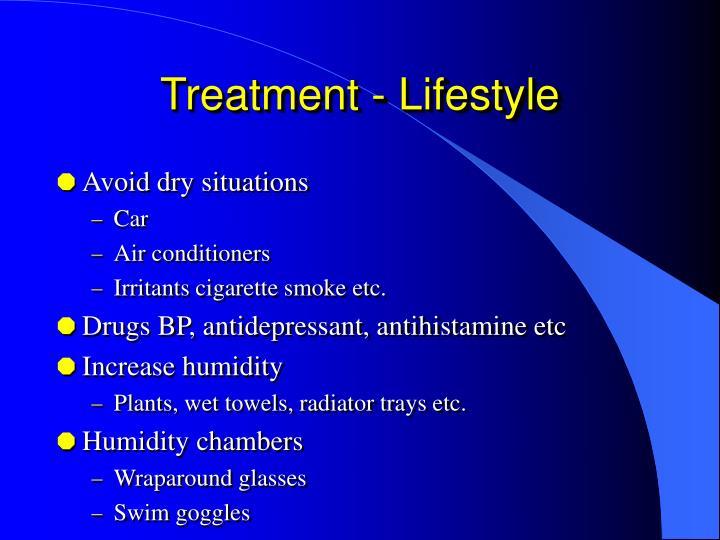 Treatment - Lifestyle