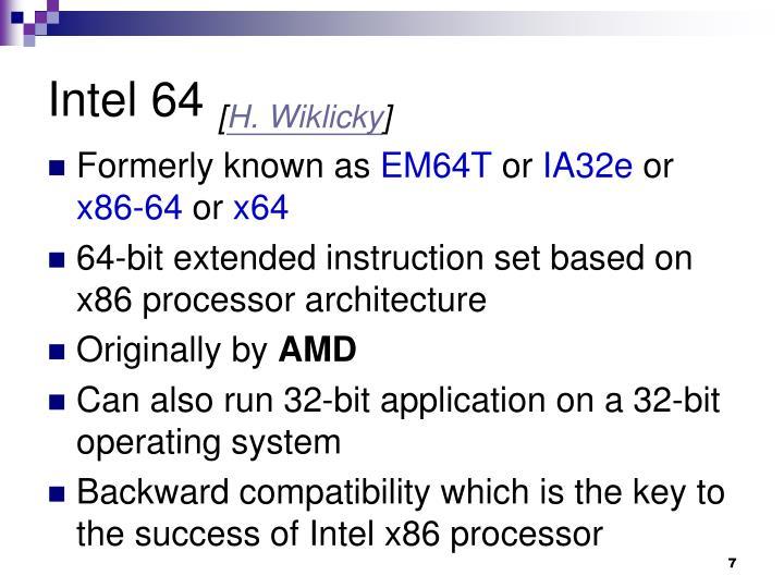 Intel 64