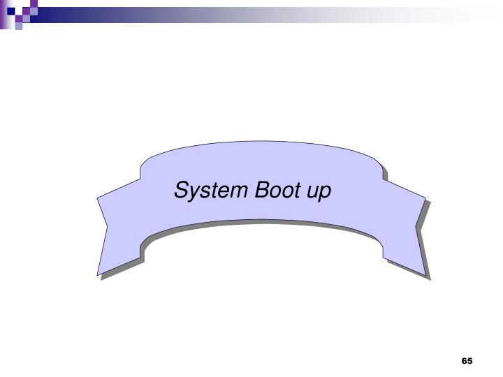System Boot up