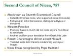 second council of nicea 787