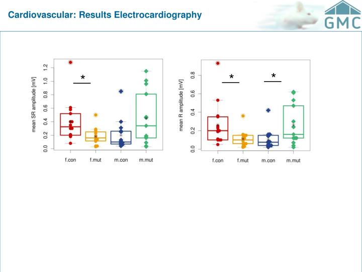 Cardiovascular: Results Electrocardiography