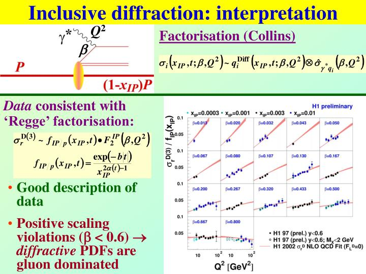 Inclusive diffraction: interpretation