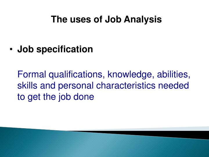 Ppt Job Analysis And Job Design Powerpoint Presentation