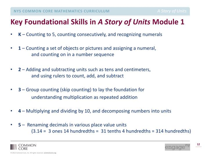 Key Foundational Skills in