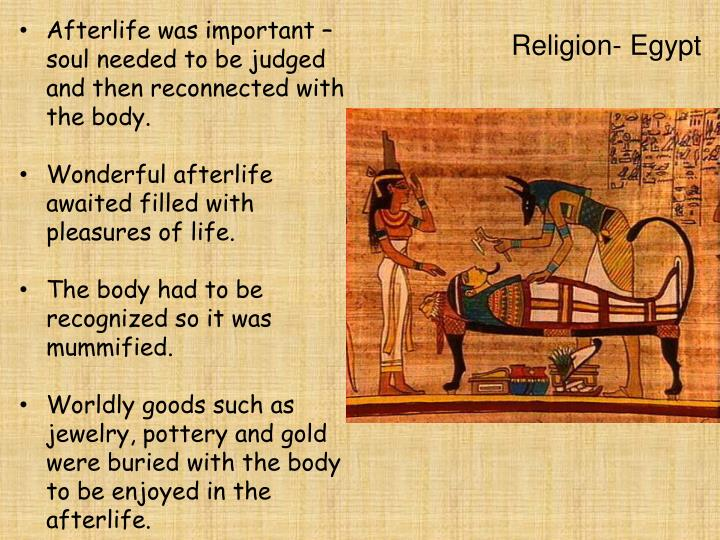 the egyptian and mesopotamian view of the afterlife