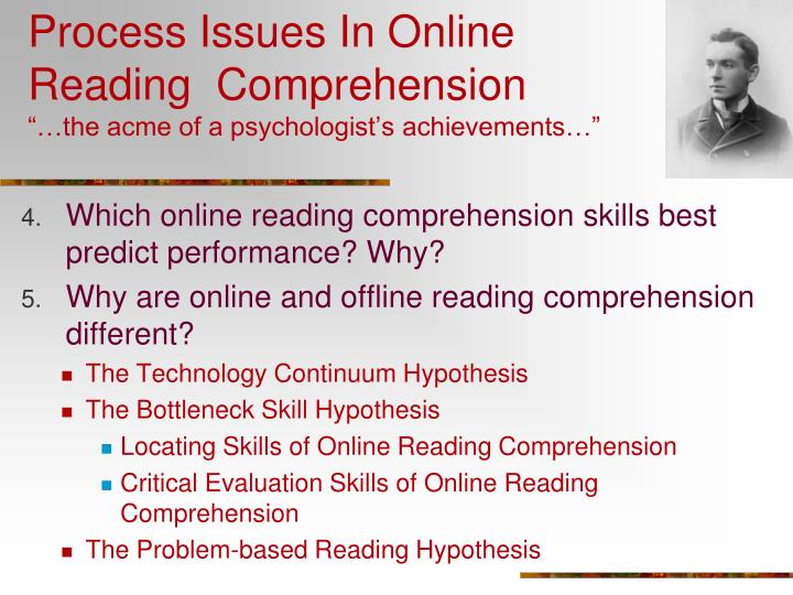 Process Issues In Online