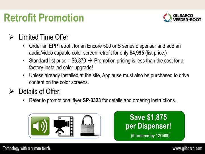 Retrofit Promotion