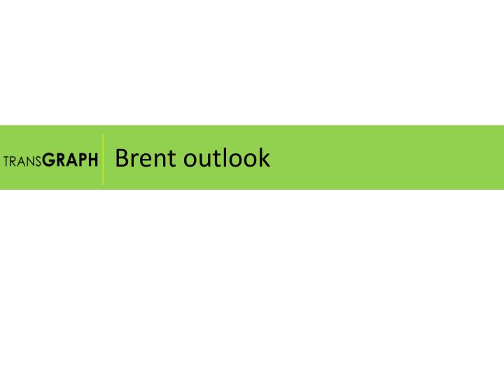 Brent outlook