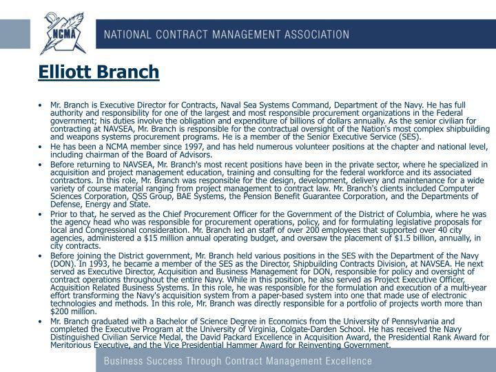 Elliott Branch