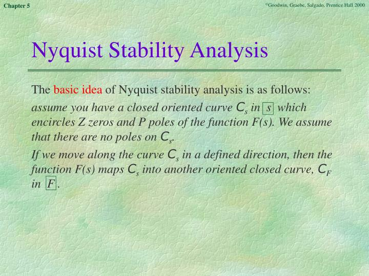 Nyquist Stability Analysis