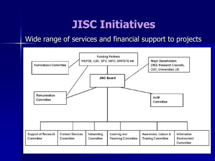 JISC Initiatives