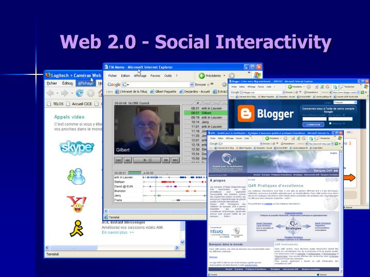 Web 2.0 - Social Interactivity