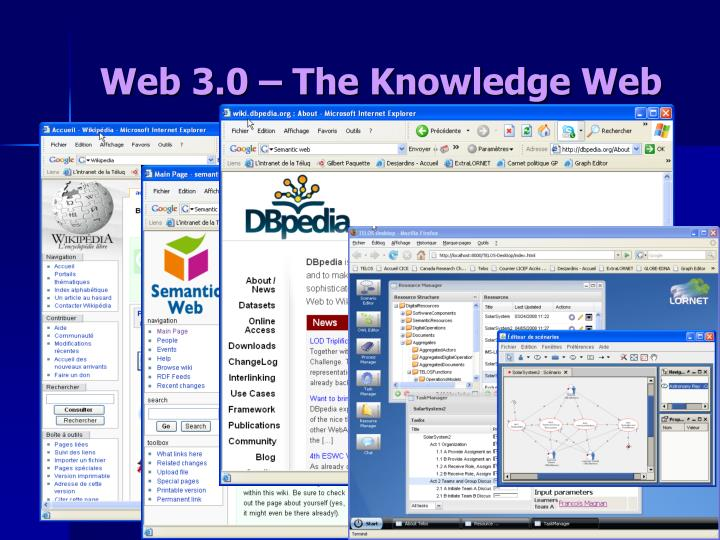 Web 3.0 – The Knowledge Web