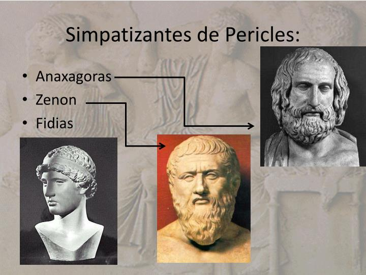 Simpatizantes de Pericles:
