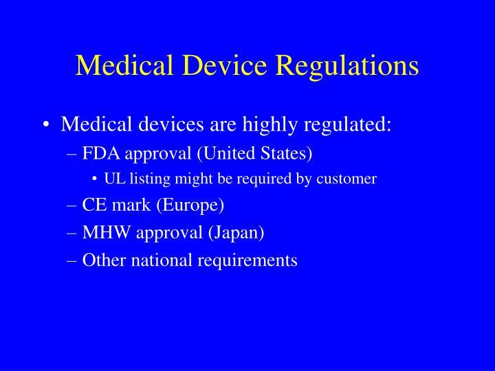 Medical Device Regulations