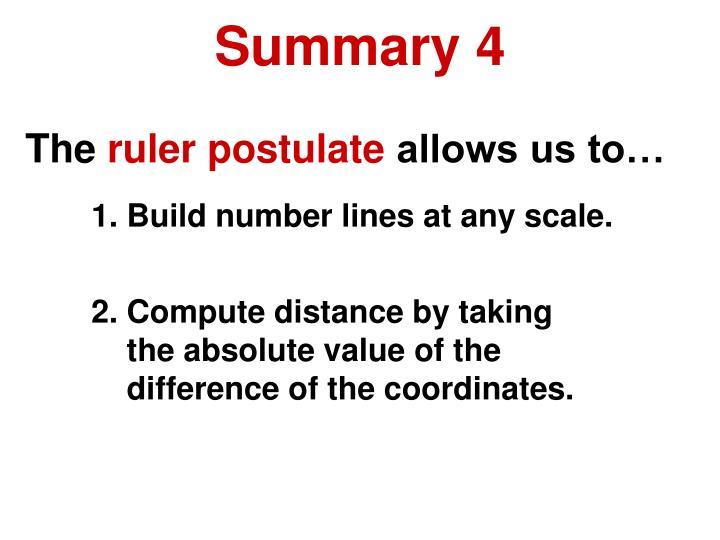 Summary 4
