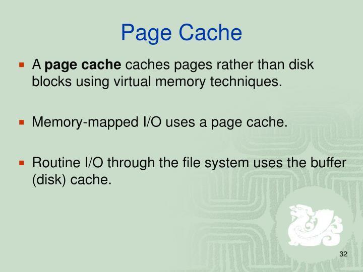 Page Cache