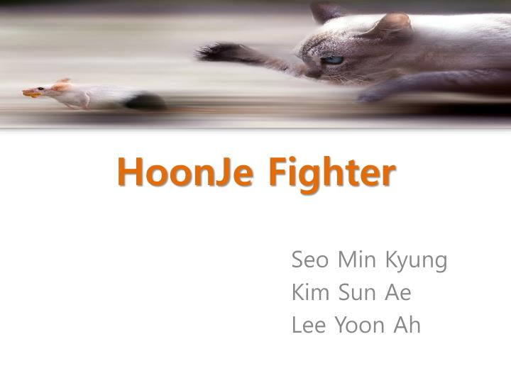 hoonje fighter