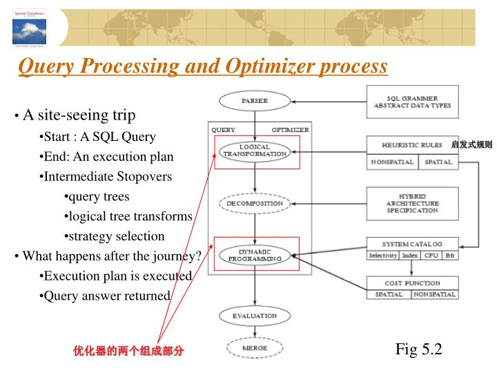 Query Processing and Optimizer process