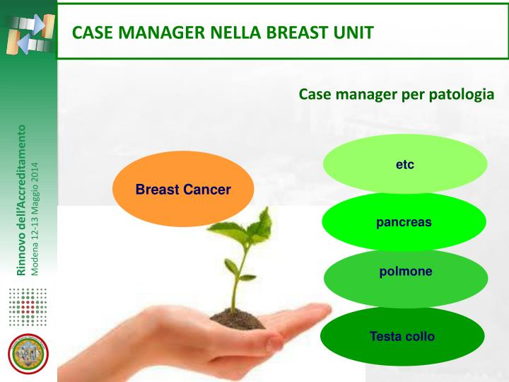CASE MANAGER NELLA BREAST UNIT