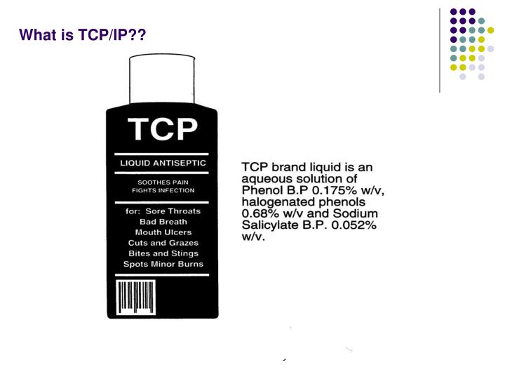 What is TCP/IP??