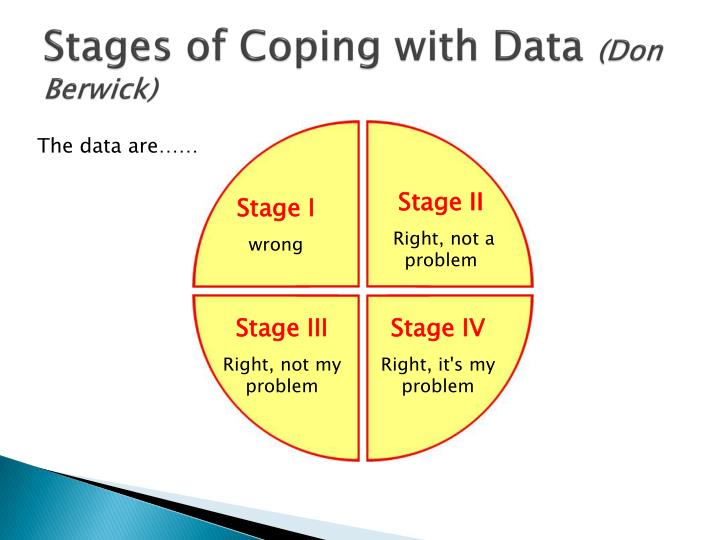 Stages of Coping with Data