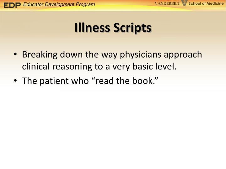 Illness Scripts