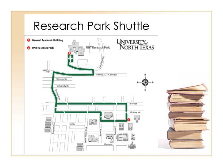 Research Park Shuttle