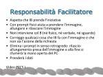 responsabilit facilitatore